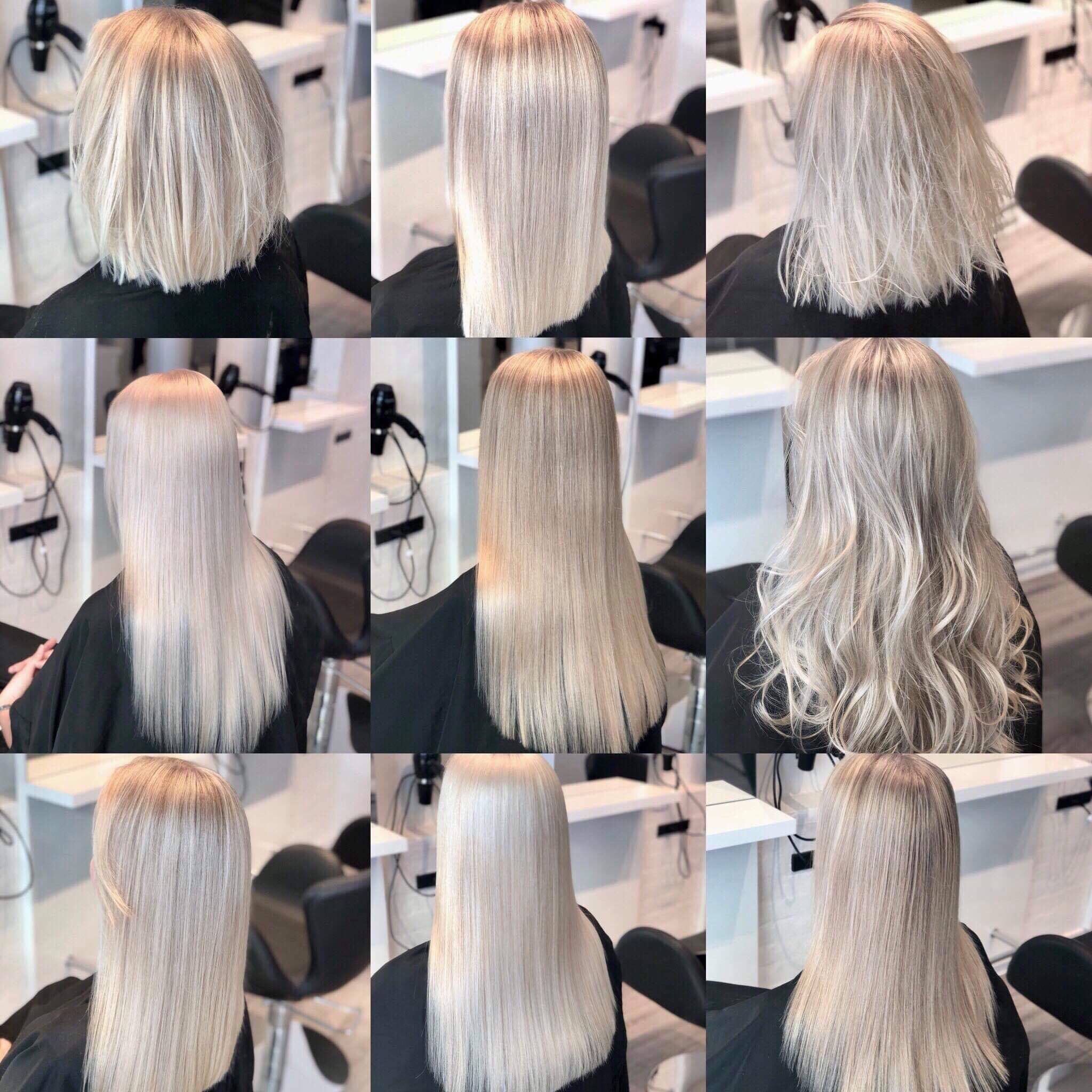 Babylights hår