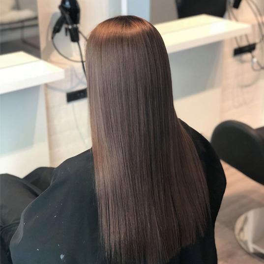 Glossing hår